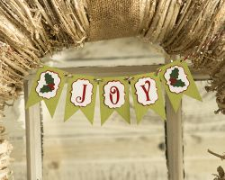 Paper Wizard Joy Mini Banner